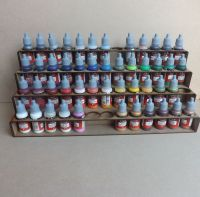 Paint Stand 52 bottle rack