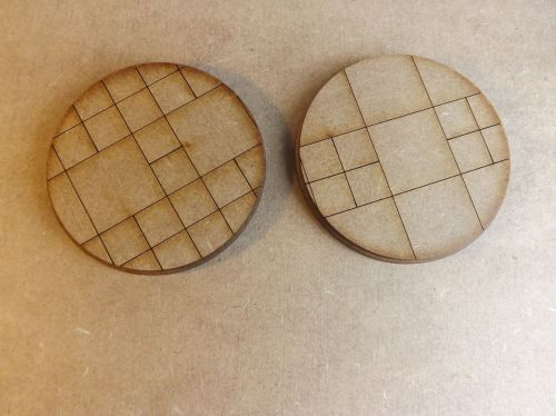 2x60mm Pavement Bases