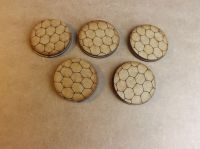 5x40mm Hexagon bases