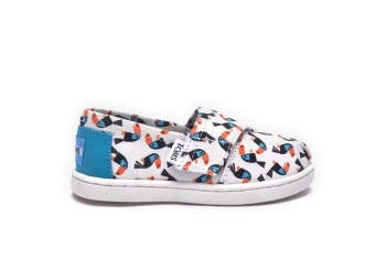 BLUE MULTI CANVAS TOUCANS TINY TOMS CLASSICS