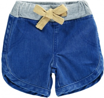 CREPE SUZETTE Denim Shorts