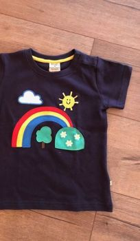 Frugi Sunshine & Rainbow T-Shirt