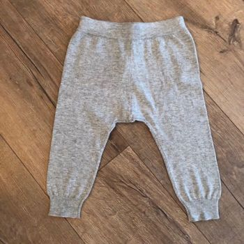 Lightweight Knitted Grey Legging