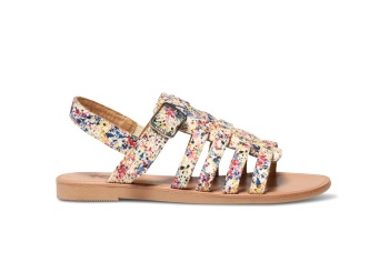 TOMS HUARACHE SANDALS PAINT SPLATTER