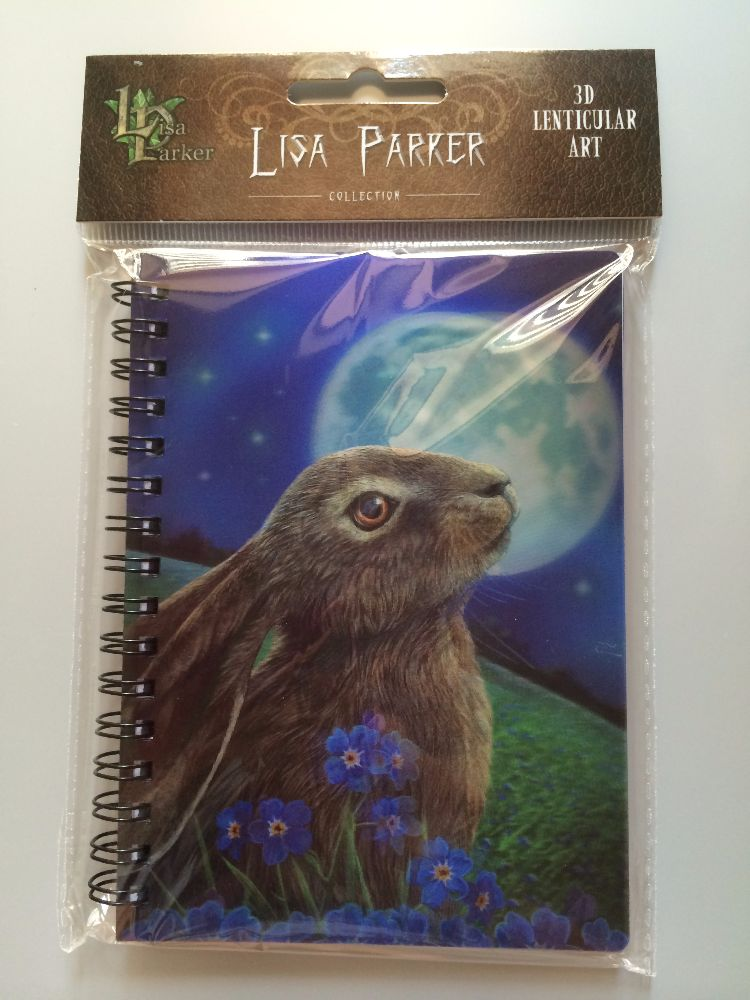 Lisa Parker 3D Notebooks and Postcards