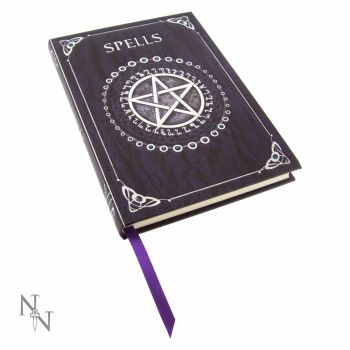 Spells Journal by Luna Lakota ~ Purple