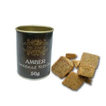 Amber Incense Resin in 50g Tub