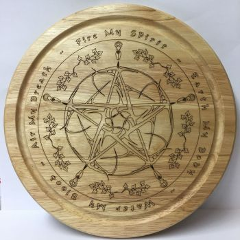 Elemental Pentagram Kitchen Board