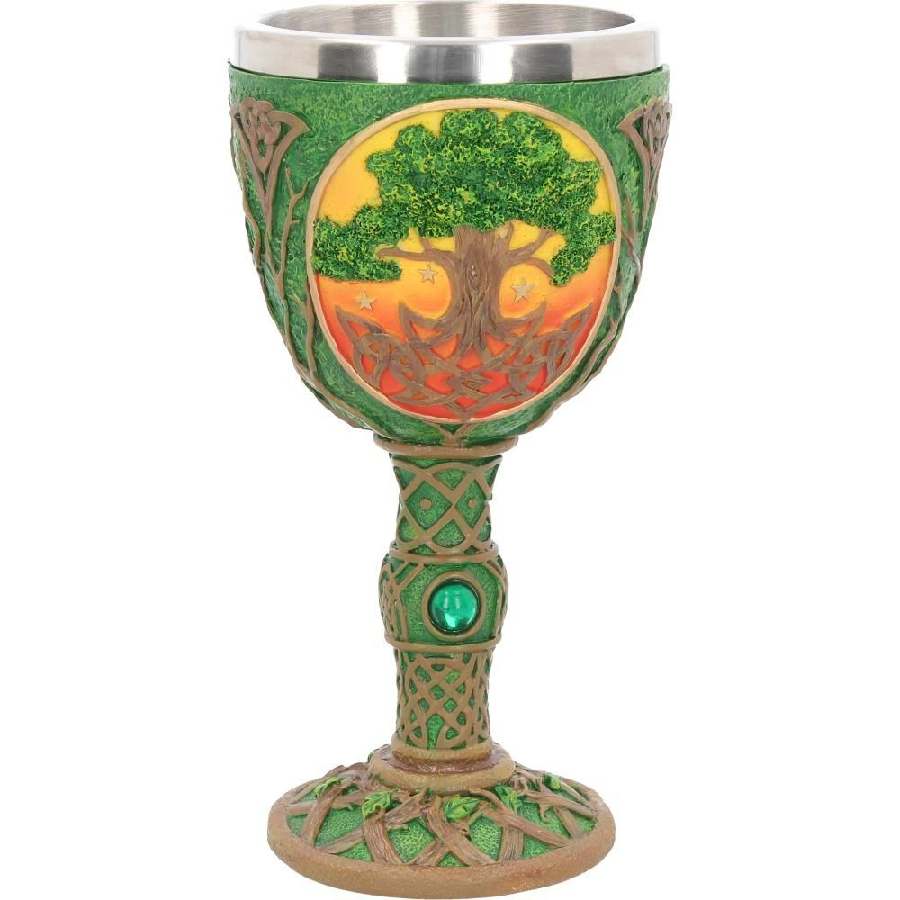 Celtic Dawn Tree of Life Resin Chalice
