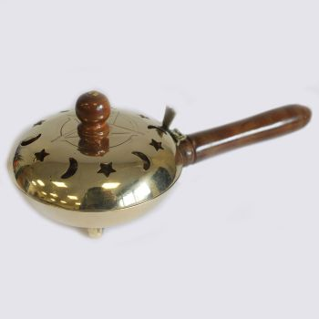 Brass Incense Butler with handle