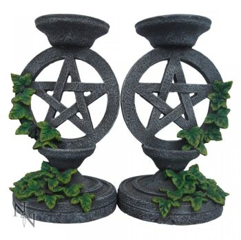 Pentagram Candle Sticks