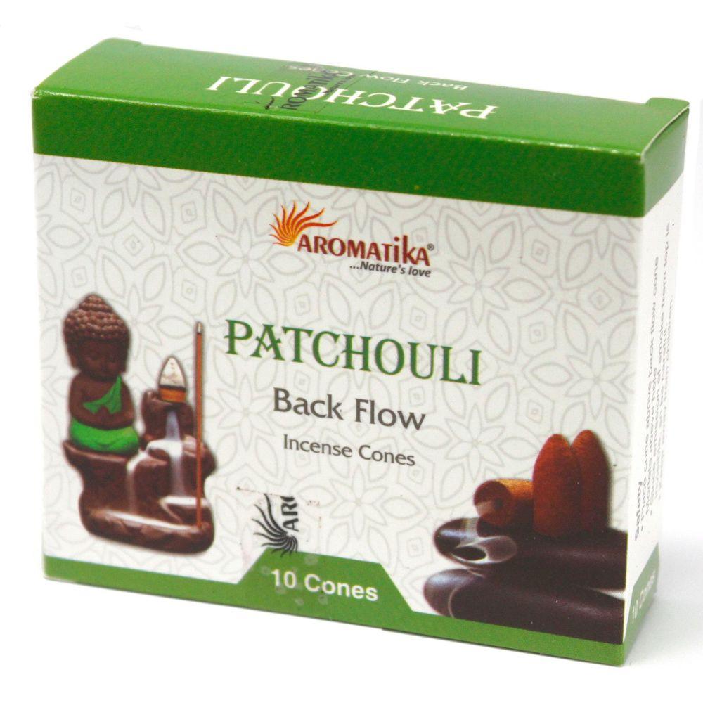 Back Flow Incense Cones Tub ~ Patchouli
