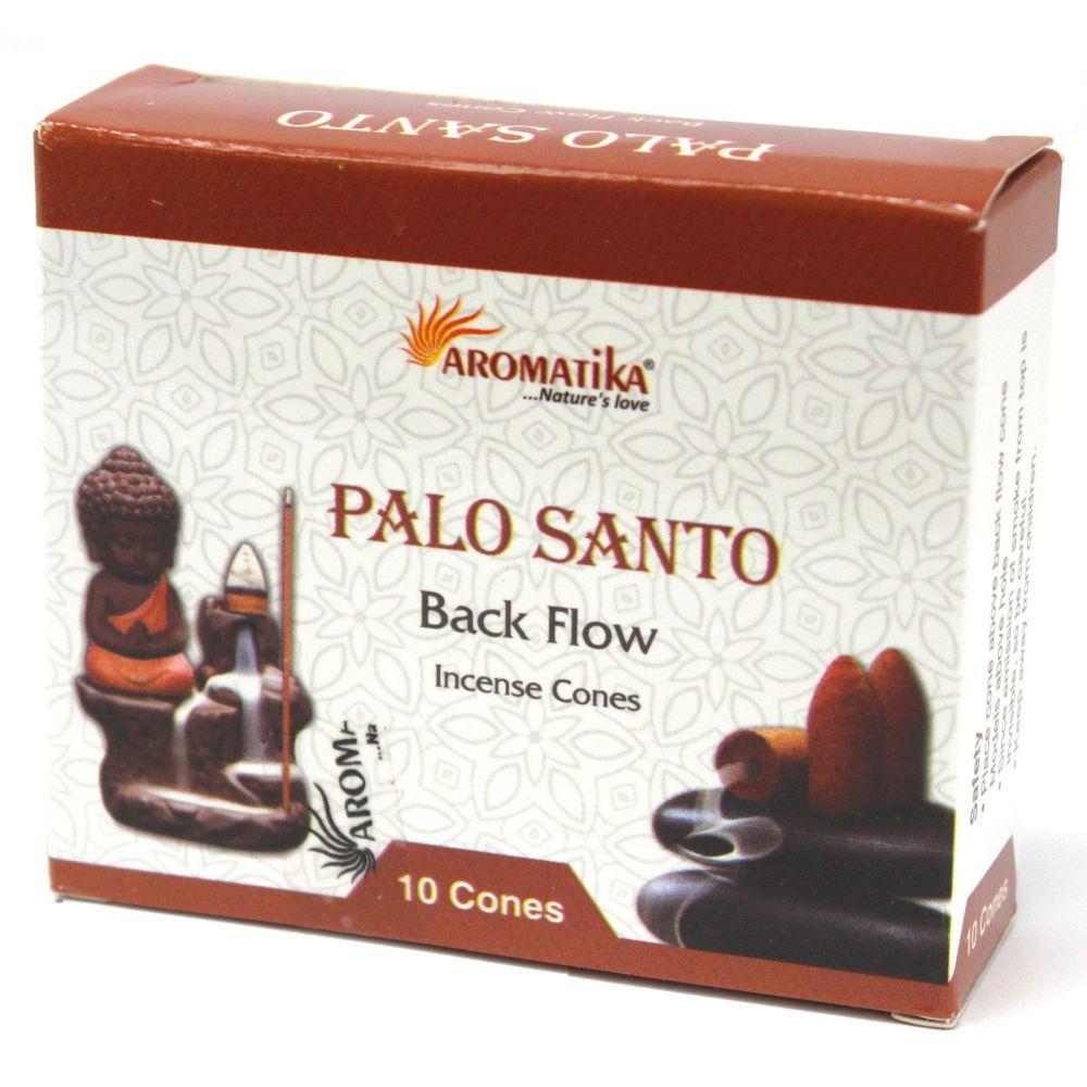 Back Flow Incense Cones ~ Palo Santo