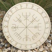 "Viking Compass ""Vegvisir"" Large"