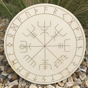 "Viking Compass ""Vegvisir"" Large"