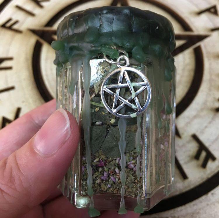 Freya's Cauldron Spell Jars