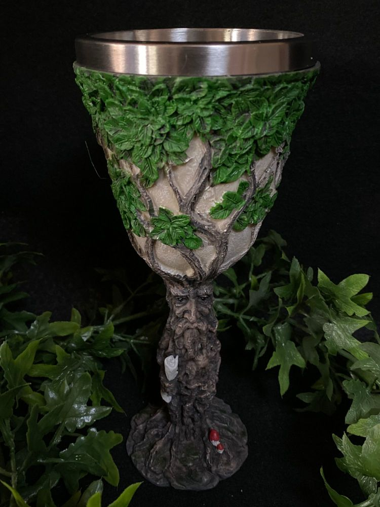 Tree of Life Resin  Chalice