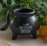 Cute Witch's Brew Cauldron Pot