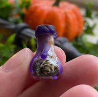 A Cute Miniature Witches Protection Bottle