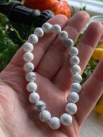 White Jasper Power Bracelet ~ Peace and Friendship