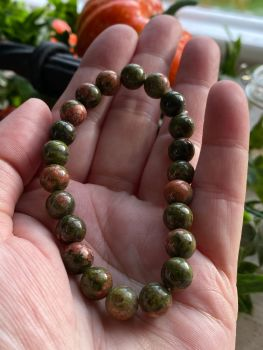 Green Jasper Power Bracelet ~ Healing and Nurturing