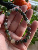 Moss Agate Power Bracelet ~ Awaken Talents