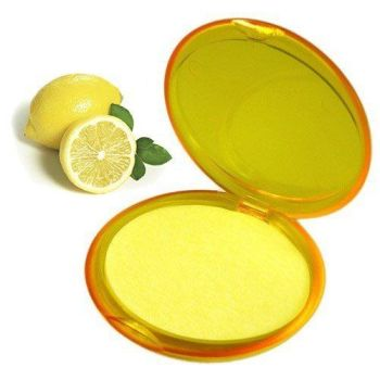 Paper Soap Compacts ~ Lemon