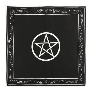 Pentagram Altar Cloth 70 cm x 70 cm