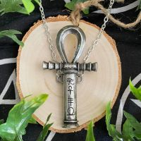 Ankh of the Dead Pewter pendant by Alchemy England