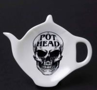Pot Head Teabag Dish by Alchemy