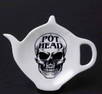 Pot Head Teabag Dish by Alchemy