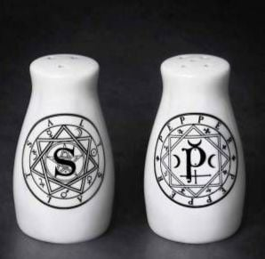 Salt and Pepper Set by Alchemy
