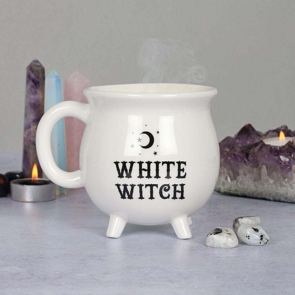 White Witch ~  Cauldron Mug