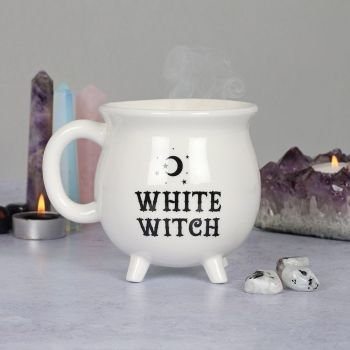 White Witch ~  Cauldron Mug