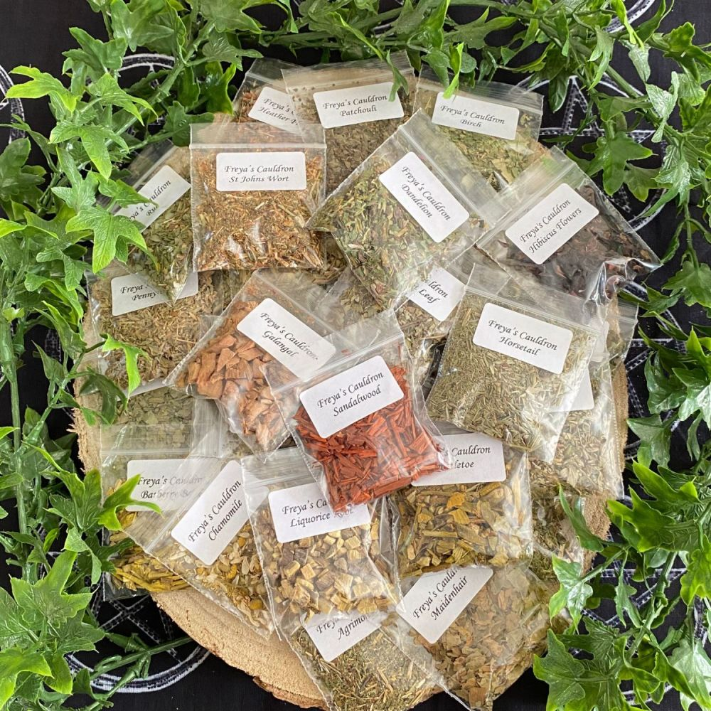 Herb Kit  of 50 Magical Herbs