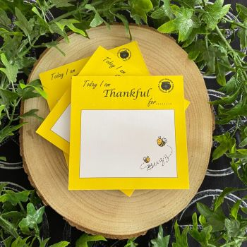 Bee Thankful Notepad ~ 1 pad ~ Sale