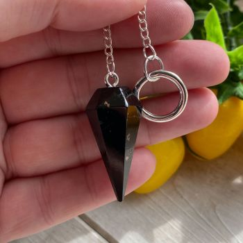 Black Tourmaline Pendulum ~ #3