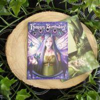 Mystic Aura Birthday Card by Anne Stokes