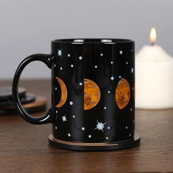 Moon Phase Ceramic Mug