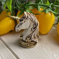 Unicorn Skull ~ Miniature Collectible by Alchemy