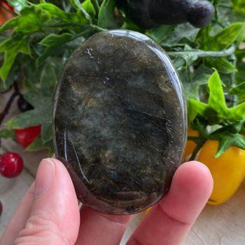 Labradorite Palm Stone #A2