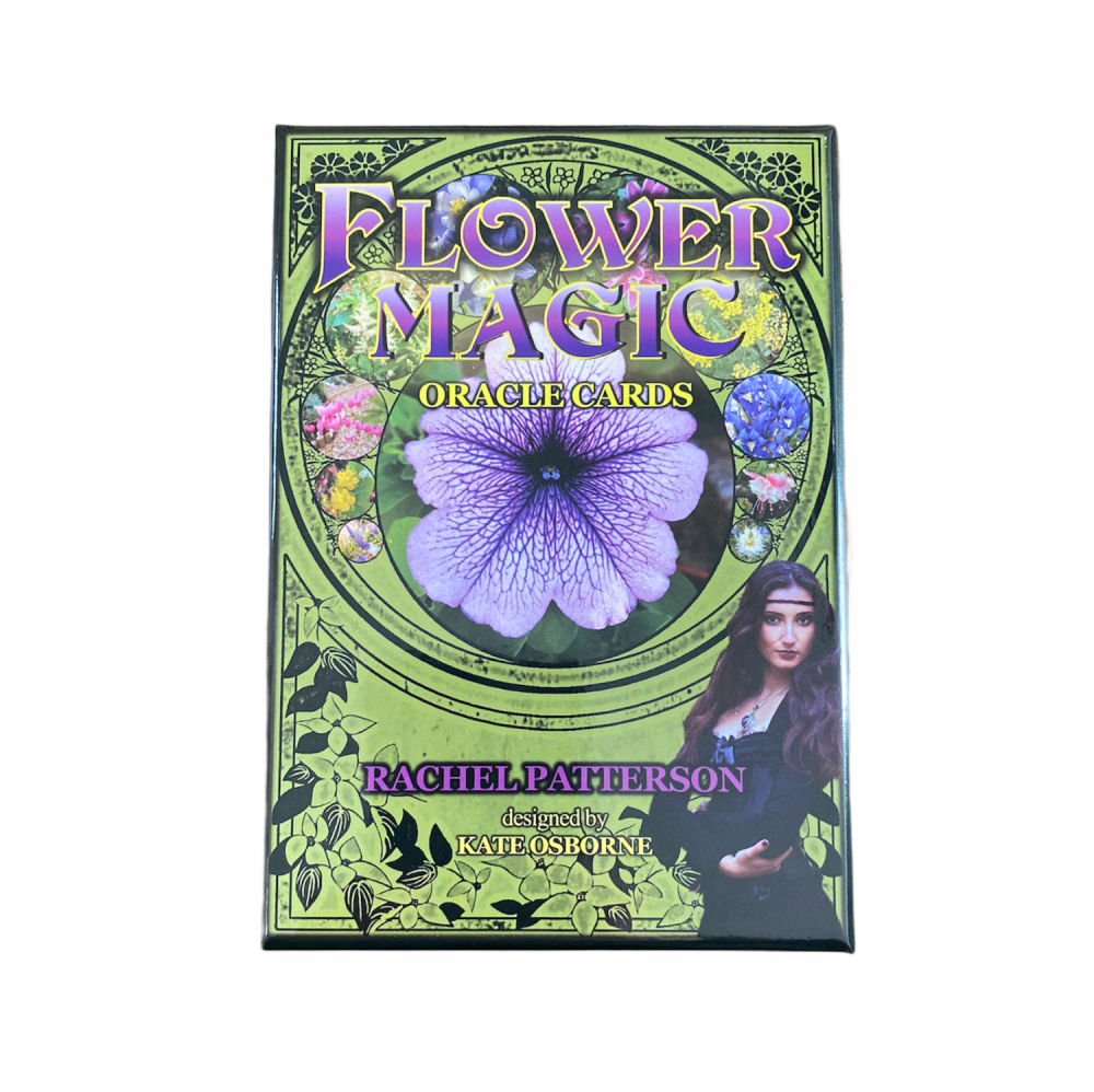Flower Magic Oracle Cards by Rachel Patterson
