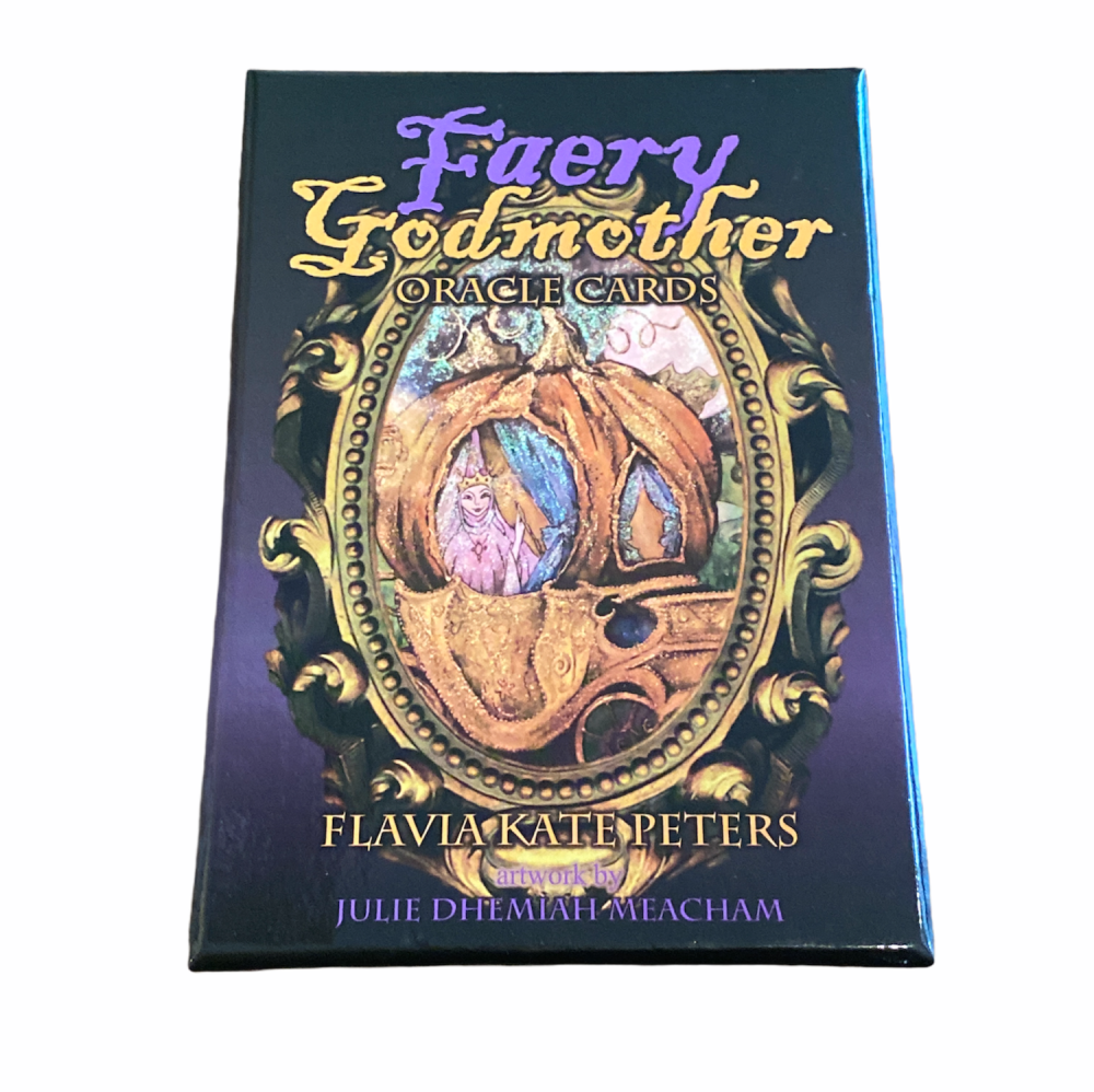 Faery Godmother Oracle Cards and Guide Book