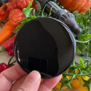 Black Obsidian Scrying Mirror ~ Medium