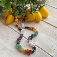 Chakra Crystal Chip Necklace
