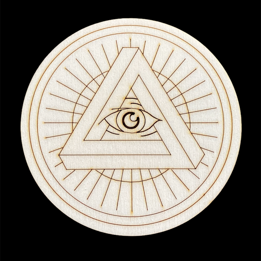 All Seeing Eye Altar Tile