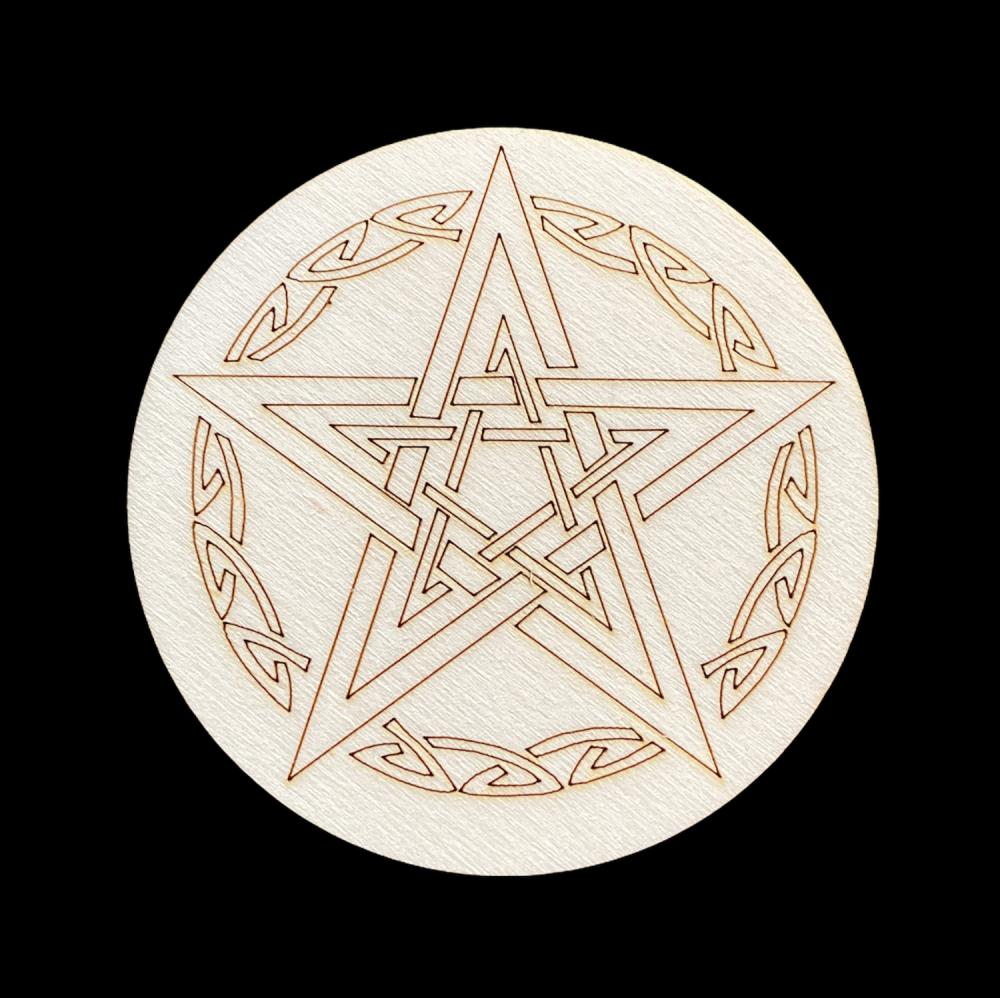 Double Pentagram Altar Tile