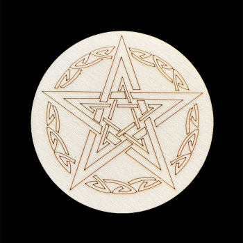 Double Pentagram Altar Tile