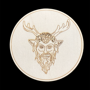 Horned God Altar Tile