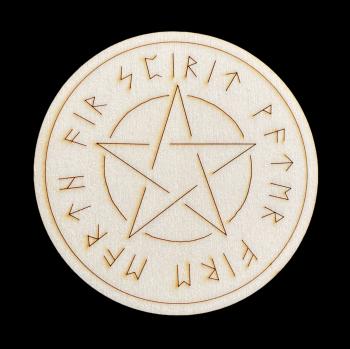Pentagram and Elements Altar Tile